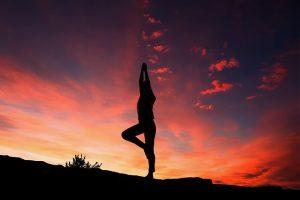 Cvičenie jogy